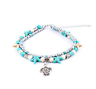 cheap -Anklet - Turtle, Animal, Starfish Double Layered, Vintage Silver For Gift / Women's