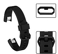 cheap -Watch Band for Fitbit Alta HR Fitbit Sport Band Silicone Wrist Strap