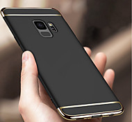 cheap -Case For Samsung Galaxy S9 S9 Plus Shockproof Plating Back Cover Solid Colored Hard PC for S9 Plus S9 S8 Plus S8 S7 edge S7 S6 edge S6