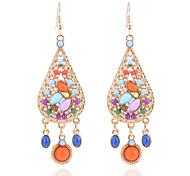cheap -Women's Tanzanite Drop Earrings - Resin Drop Bohemian, Fashion, Boho Rainbow For Holiday / Going out
