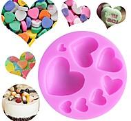 Недорогие -Инструменты для выпечки Силикон Своими руками День Святого Валентина День рождения Творческая кухня Гаджет многообещающий конфеты Для