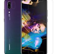 abordables -Protector de pantalla Huawei para Huawei P20 PET Vidrio Templado 2 pcs Protector de lente frontal y de cámara Anti-Reflejos Anti-Huellas