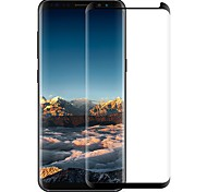 cheap -Screen Protector for Samsung Galaxy S8 Plus Tempered Glass 1 pc Front Screen Protector 3D Curved edge Anti-Fingerprint Scratch Proof