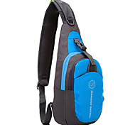 Недорогие -6L Слинг сумки на ремне Пешеходный туризм / Походы Дожденепроницаемый / Пригодно для носки / Легкие Оксфорд Красный / Зеленый / Синий