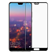 cheap -Screen Protector for Huawei Huawei P20 lite Tempered Glass 1 pc Front Screen Protector 3D Curved edge / Anti-Fingerprint / Scratch Proof