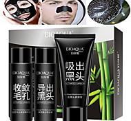 economico -3 pcs Detergenti / Maschera / Detergente viso Umido Kit pulizia / Liquido / Maschera Pulizia profonda / Minimizzare di pori / Punti neri