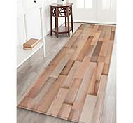 abordables -Felpudos / Las alfombras de área Deportes y Exterior / Diseño Geométrico Franela de Algodón, Rectángulo Calidad superior Alfombra