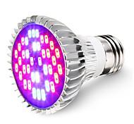 Недорогие -1шт 7W 600lm E26 / E27 Растущая лампочка 40 Светодиодные бусины SMD 5730 Декоративная Холодный белый Инфракрасный UV (лампа черного