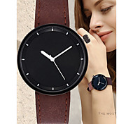 preiswerte -Damen Quartz Armbanduhr Chinesisch Chronograph / Armbanduhren für den Alltag Leder Band Mehrfarbig / Modisch Schwarz / Rot / Orange /