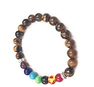 cheap -Women's Onyx Strand Bracelet - Natural, Fashion, Colorful Bracelet Dark Blue / Brown / Light Blue For Daily / Holiday
