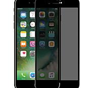 Недорогие -Защитная плёнка для экрана для Apple iPhone 7 Plus Закаленное стекло 1 ед. Защитная пленка на всё устройство 3D закругленные углы /