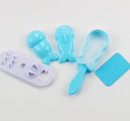 Недорогие -Кухонные принадлежности Пластик Новый дизайн DIY прессформы Рисовые шарики 5 шт.