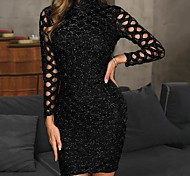 7b6d415bc7d cheap -Women  039 s Party Daily WorkWear Elegant Slim Sheath Dress - Solid