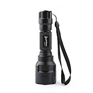 Uniquefire LED Flashlights / Torch Handheld Flashlights/Torch LED 1000 lm 3 Mode Cree XM-L T6 for Camping/Hiking/Caving Batteries not