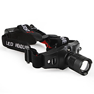 Φακοί LED Φακοί Κεφαλιού LED 210 Lumens 3 Τρόπος Cree XR-E Q5 Μπαταρίες δεν συμπεριλαμβάνονται Ρυθμιζόμενη Εστίαση Τακτικός Μικρό Μέγεθος