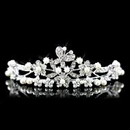 Damen Legierung Künstliche Perle Kopfschmuck-Hochzeit Besondere Anlässe Tiara