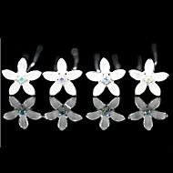 Žene Prodavačica cvijeća Legura Glava-Vjenčanje Special Occasion Neformalan Ured i karijera Pin kose 4 komada