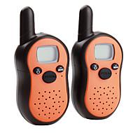 8-Kanal-Mini Walkie Talkie (5 km Reichweite, 2-Pack, orange)