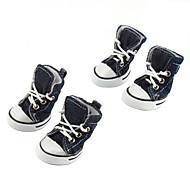 Недорогие Бижутерия и аксессуары для собак-Повседневная обувь для собак (XS-XL, разные цвета)