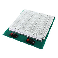 billige Arduino-tilbehør-SYB-118t 4-i-1 merge SOLDERLESS prototype breadboard-hvid grøn