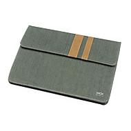 """お買い得  MacBook 用ケース/バッグ/スリーブ-Sleeve for MacBook Air 13.3"""" Business Solid Color Textile Material Cotton Denim Pouch"""