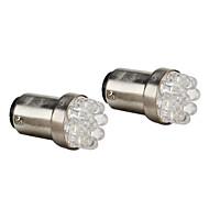 BAY15D (1157) Coche Blanco 0,5 W Diodo LED 6000 Luz de Freno