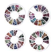 20 PCS Nail Art Decoración Ruedas