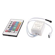 abordables Controladores RGB-12 V Accesorio de iluminación Controlador RGB El plastico