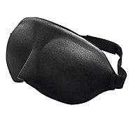 お買い得  旅行用快適グッズ-1枚 旅行用アイマスク 通気性 携帯式 快適 調整可能 のために 旅行用睡眠グッズ スポンジ