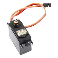 mg995 wieża miedź pro gear servo dla r / c samochód / samolot / śmigłowiec (czarny)
