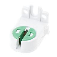 abordables Bases de Lámpara-G5 Accesorio de iluminación Enchufe de la luz El plastico