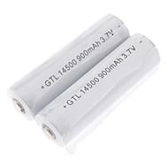 저렴한 손전등, 랜턴 & 조명-14500 batteri 900.0 MAH 용 캠핑/등산/동굴탐험