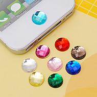 sticky sticker van joyland acryl (willekeurige kleuren) diy voor iphone 8 7 Samsung Galaxy S8 S7