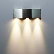 AC 85-265 3 Integrert LED Moderne / Nutidig galvanisert Trekk for LED Mini Stil Pære inkludert,Atmosfærelys Vegglampe