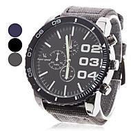 Недорогие Фирменные часы-V6 Муж. Кварцевый Японский кварц Наручные часы Армейские часы Повседневные часы Материал Группа Кулоны Черный Синий Серый
