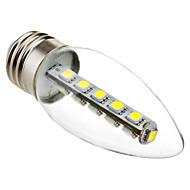 E26/E27 Ampoules Bougies LED C35 16 SMD 5050 180 lm Blanc Froid 6000K K Décorative AC 100-240 V