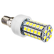 abordables Daiwl-6000 lm E14 Bombillas LED de Mazorca T 47 leds SMD 5050 Blanco Natural AC 220-240V