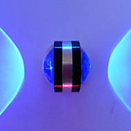 2 Integrert LED Moderne / Nutidig galvanisert Trekk for LED Pære inkludert,Atmosfærelys Vegglampe