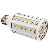 お買い得  LED コーン型電球-YWXLIGHT® 800lm E26 / E27 LEDコーン型電球 T 60 LEDビーズ SMD 5050 温白色 ホワイト 12V