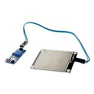 お買い得  Arduino 用アクセサリー-葉面雨が(arduinoのための)雨水モジュール雨滴センサモジュール感度センサモジュール