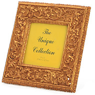 allen bronz klasszikus virág négyzet képkeret gyanta