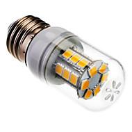 お買い得  LED コーン型電球-SENCART 1000lm E26 / E27 LEDコーン型電球 24 LEDビーズ SMD 5060 温白色 85-265V
