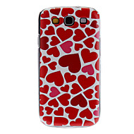 cheap Cases / Covers for Samsung-Case For Samsung Galaxy Samsung Galaxy Case Pattern Back Cover Heart PC for S3