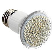 halpa LED-kohdevalaisimet-E27 5W 80-LED 320-360LM 6000-6500K Natural White Light LED Spot lamppu (230V)