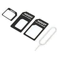 cheap iPhone Replacement Parts-Nano SIM Card to Micro/Standard SIM Card Adapter Set for iPhone 5 and Other