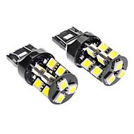 Недорогие Сигнальные огни для авто-T20 (7440,7443) Автомобиль белый 3.5W SMD 5050 6000-6500 Лампы сигнала поворота Стоп-сигналы Контроллерная сеть (Canbus)