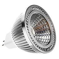 gu5.3 (mr16) led spotlight mr16 1 cob 400lm varm vit 2700k dc 12 ac 12v