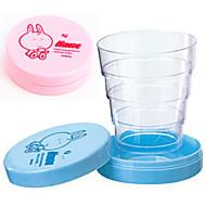 Cute Portable Collapsible Telescopic Cup (Random Color)