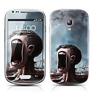 Monster Tree Pattern frontal y traseras del protector Pegatinas para el Samsung Galaxy S3 Mini I8190