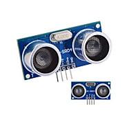 halpa Arduino-tarvikkeet-Ultraäänianturi HC-SR04 Etäisyys mittausmoduulissa - Blue + hopea